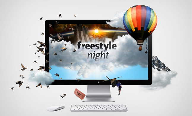 Freestyle-Night website