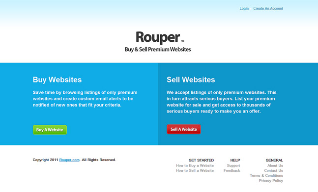 Rouper buy sell websites designed by andrey markin for Buy and sell online sites