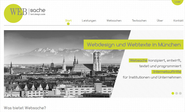 Websache website