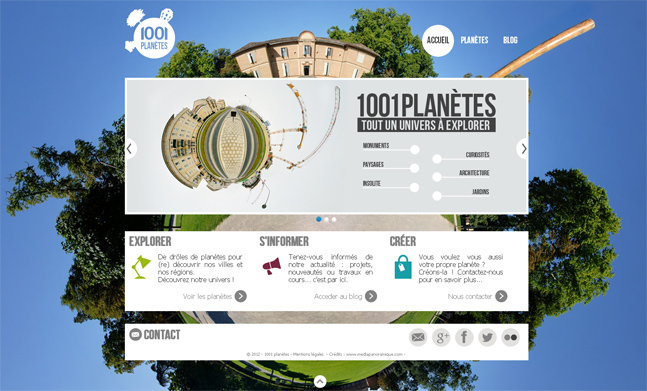 1001 planètes website