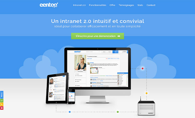 Intranet 2.0 Eentoo Light