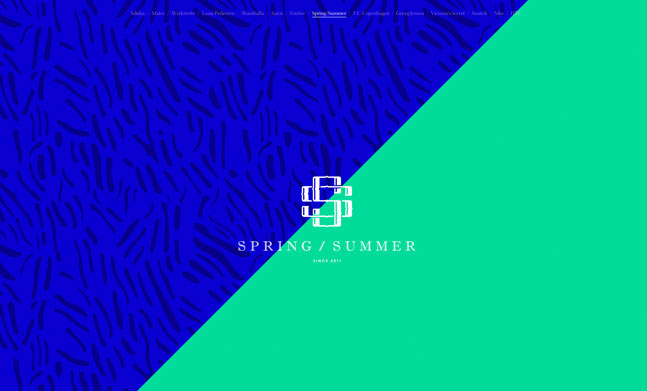Spring/Summer website