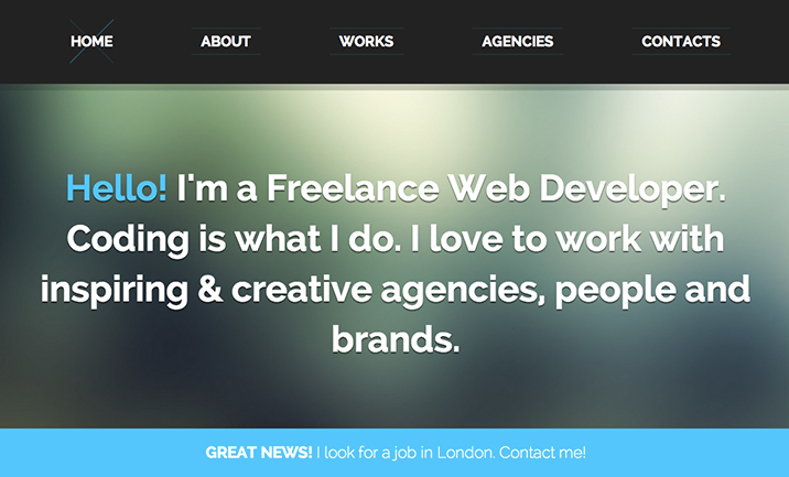 Hello! I'm a Freelance Web Dev