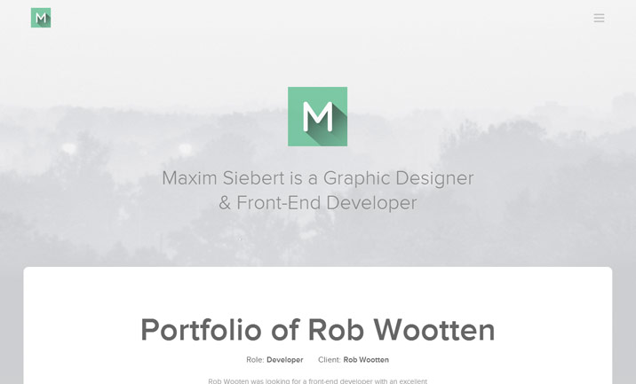 Maxim Siebert website