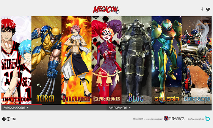 Megaconhn website