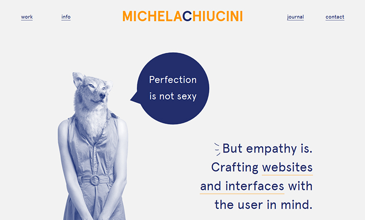 Michela Chiucini website