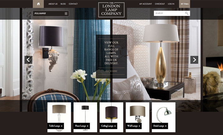 The London Lamp Company website
