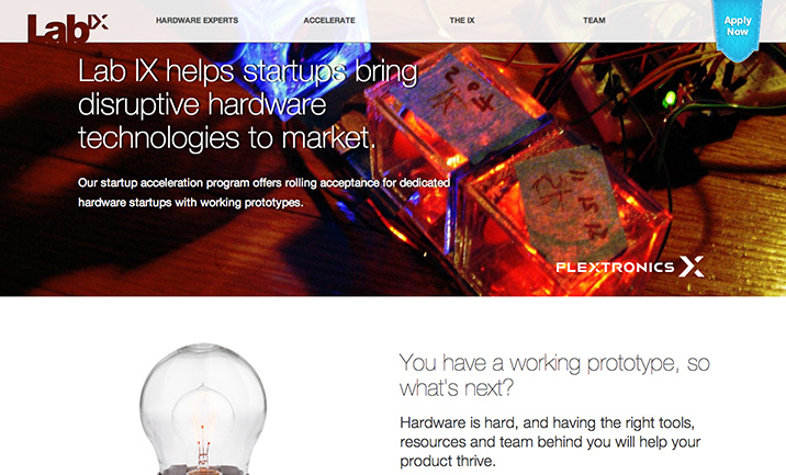Flextronics Lab IX website