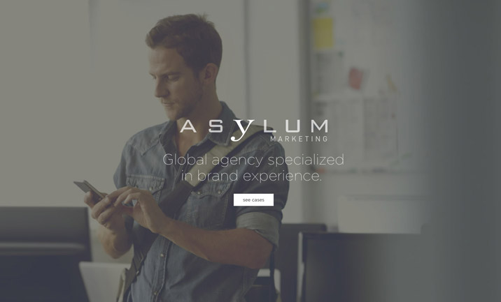 Asylum Marketing website