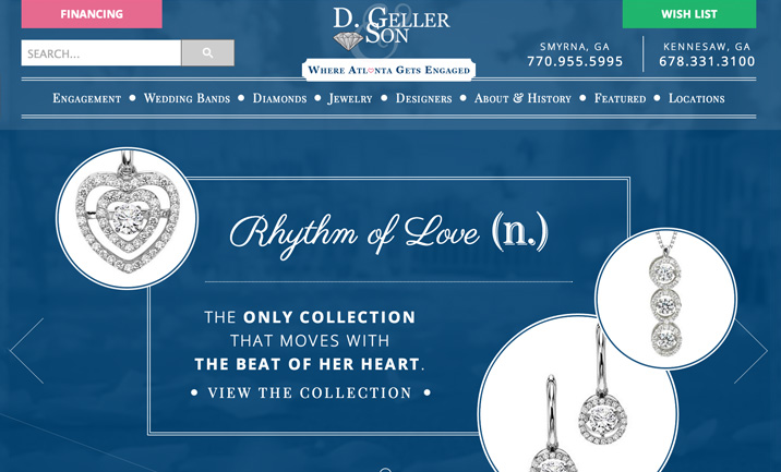 D. Geller & Son website