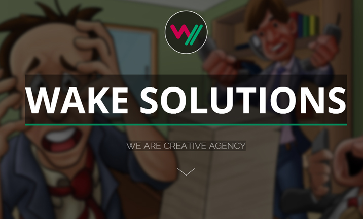Wake Solutions website