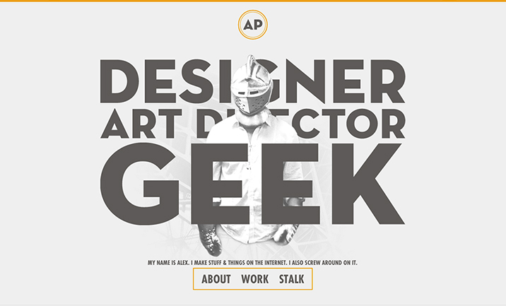 The Geek Designer website