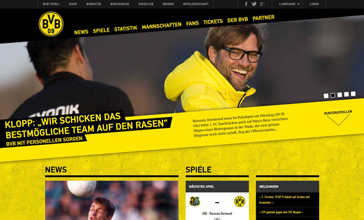 BVB.de website