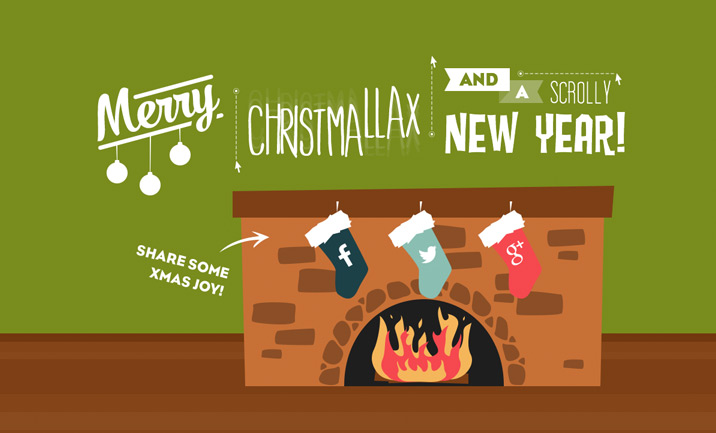 Merry Christmallax website