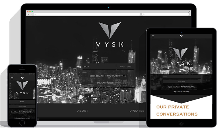 Vysk Communications website