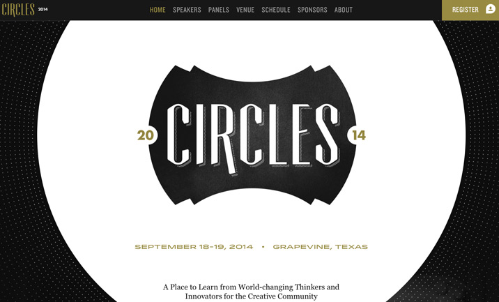 Circles website