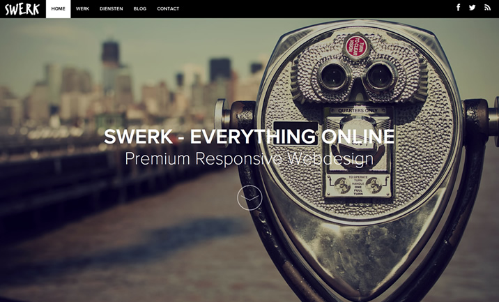 Swerk - Webdesign website