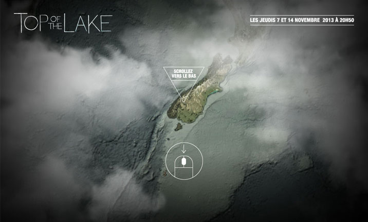 Top Of The Lake website