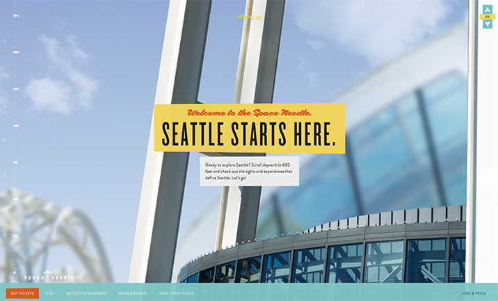 Space Needle  website