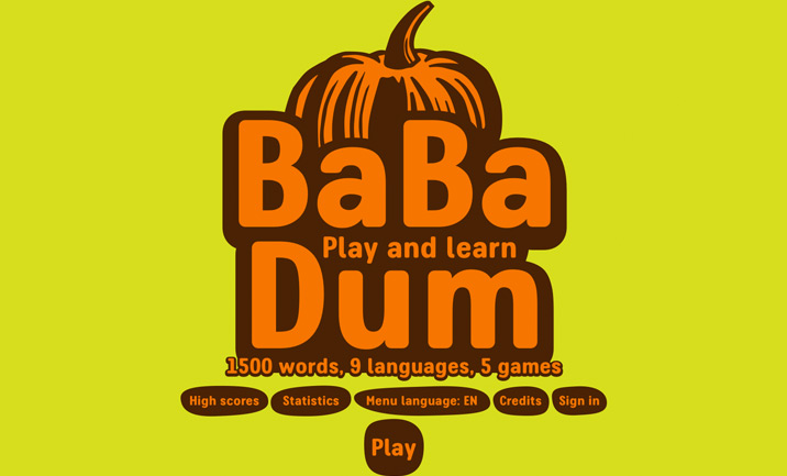 Ba Ba Dum website