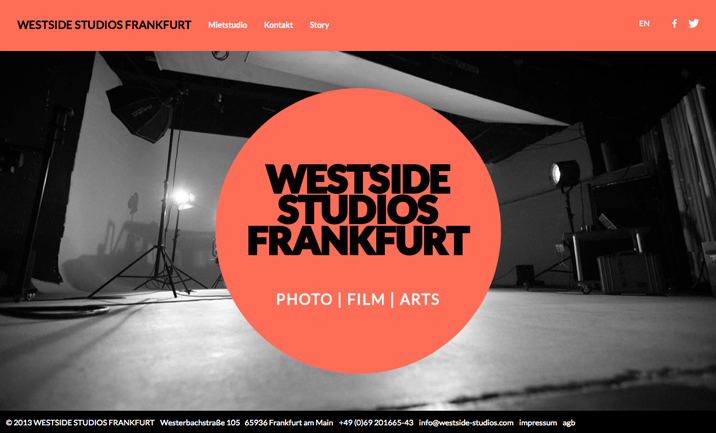 Westside Studios website