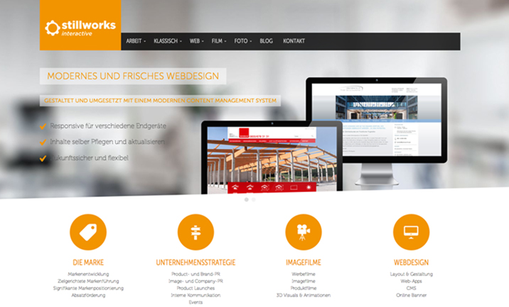 Stillworks Interactive website