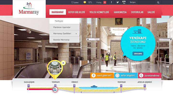 Marmaray website