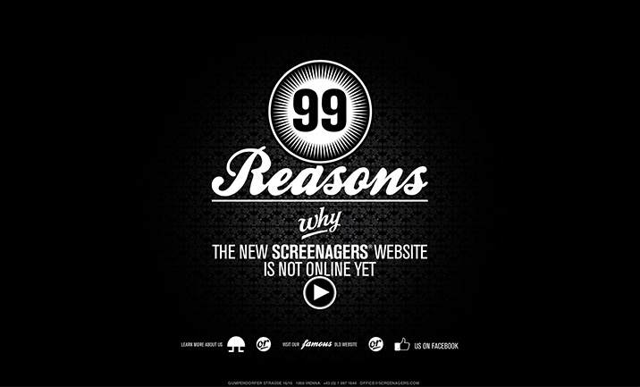 99 reasons the new ... website