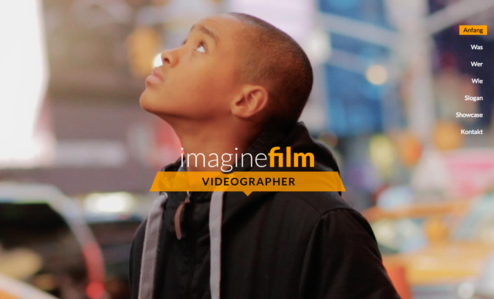 Imaginefilm website
