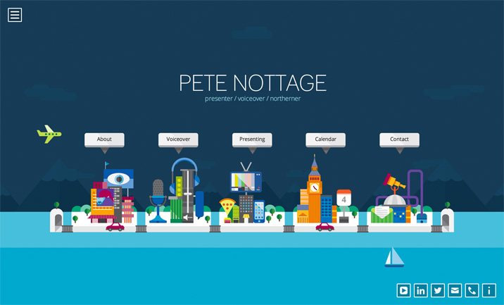 Pete Nottage website