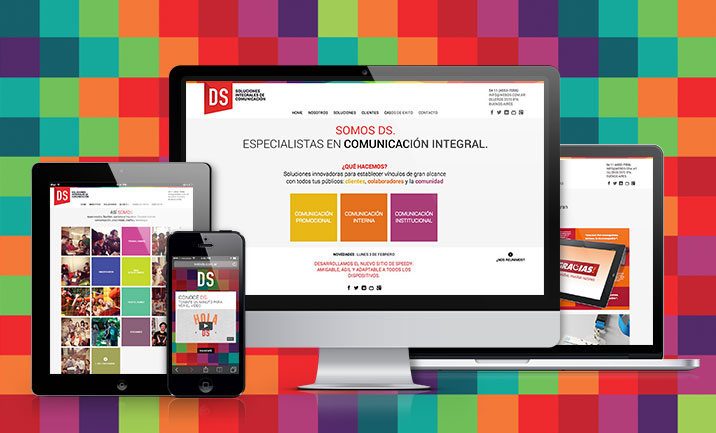 Agencia DS website