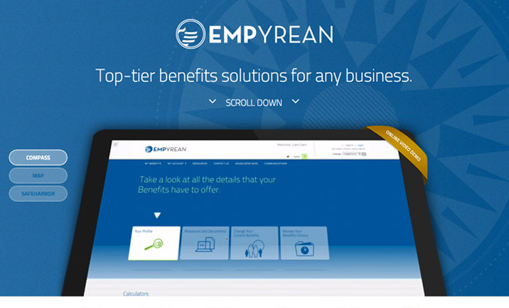 Empyrean Corp Website website