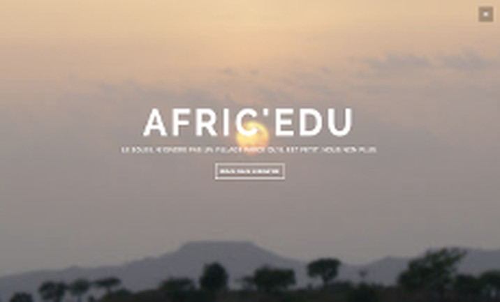 Afric Edu website