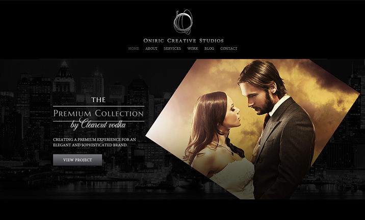 Oniric Creative Studio website