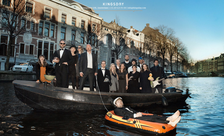 Kingsday website