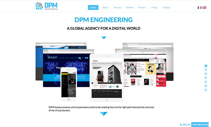 DPM Engineering website
