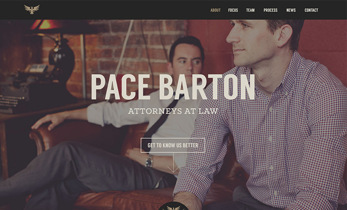 Pace Law website