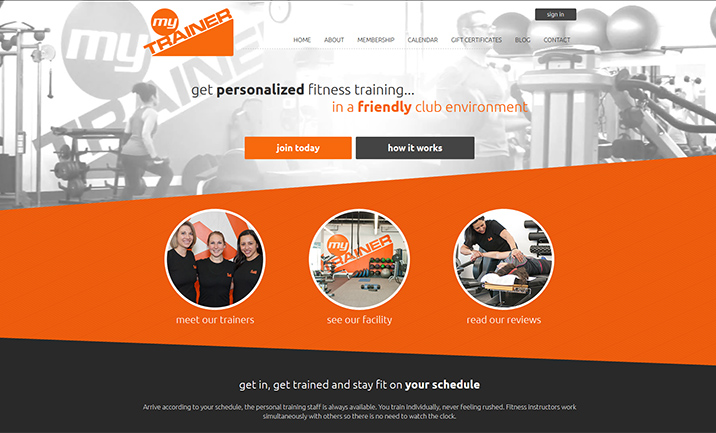 myTRAINER website