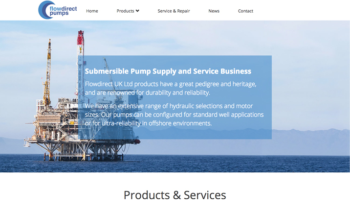 Flowdirect UK Ltd website