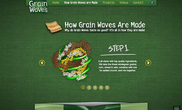 Grain Waves website