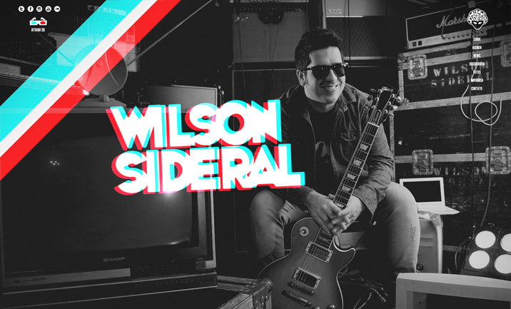 Wilson Sideral website