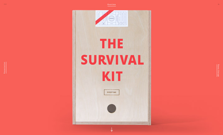 Agency Survival Kits website