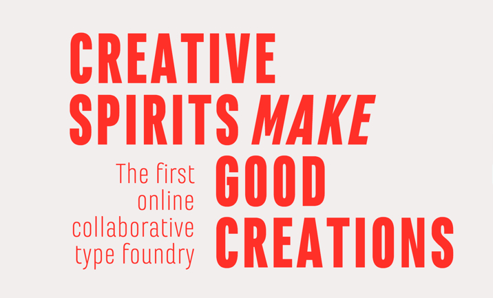 Co-create on FONTYOU website