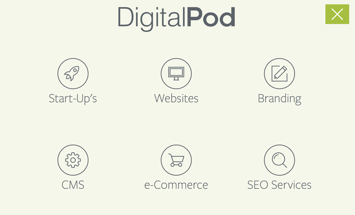 DigitalPod UK website