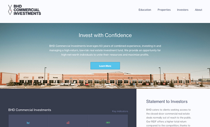 BHDCI website