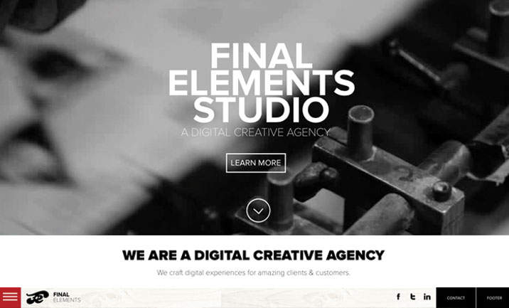 Final Elements website