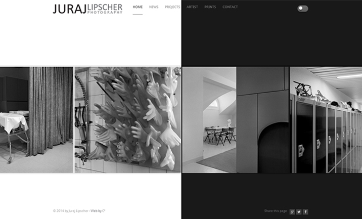 Juraj Lipscher Photography website