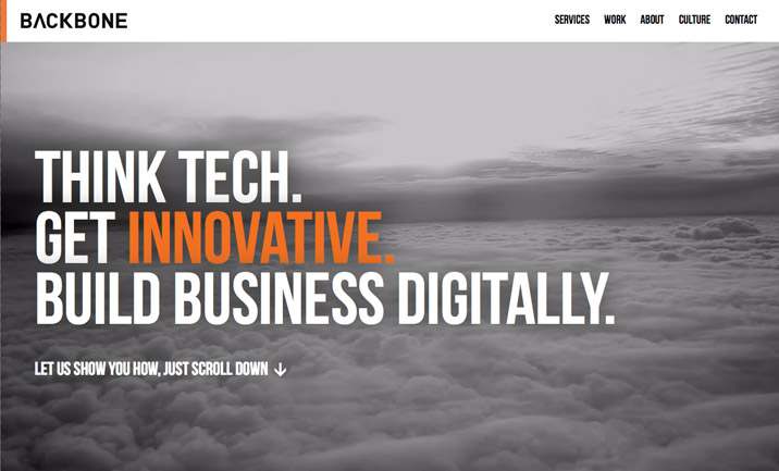Backbone Technology website