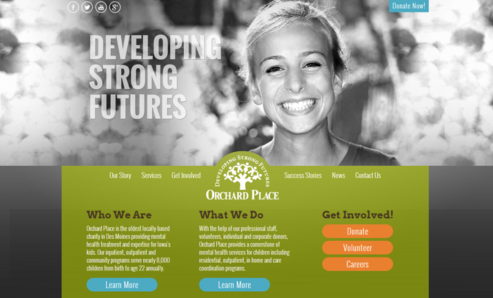 Orchard Place website