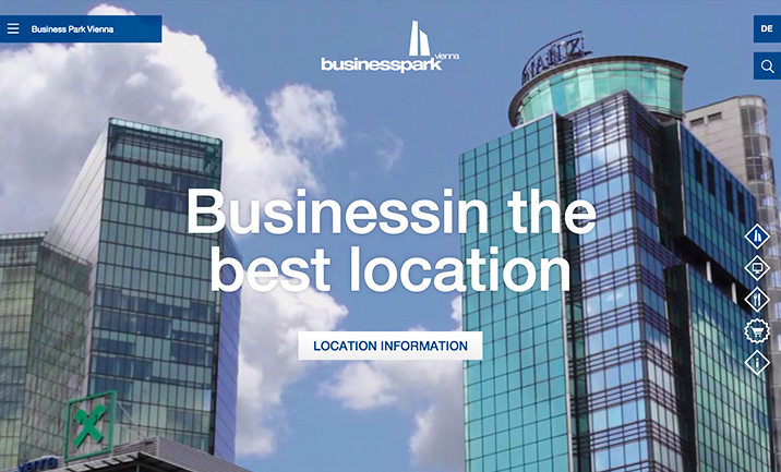 Business Park Vienna website